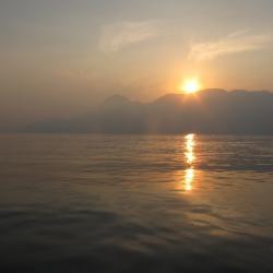 Couché soleil sur Oman (2)