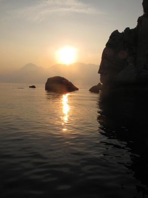 Couché soleil sur Oman (3)