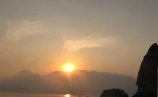 Couché soleil sur Oman (4)