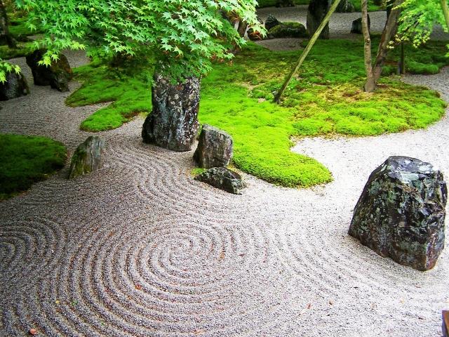 Jardin zen for Decoration jardin chinois