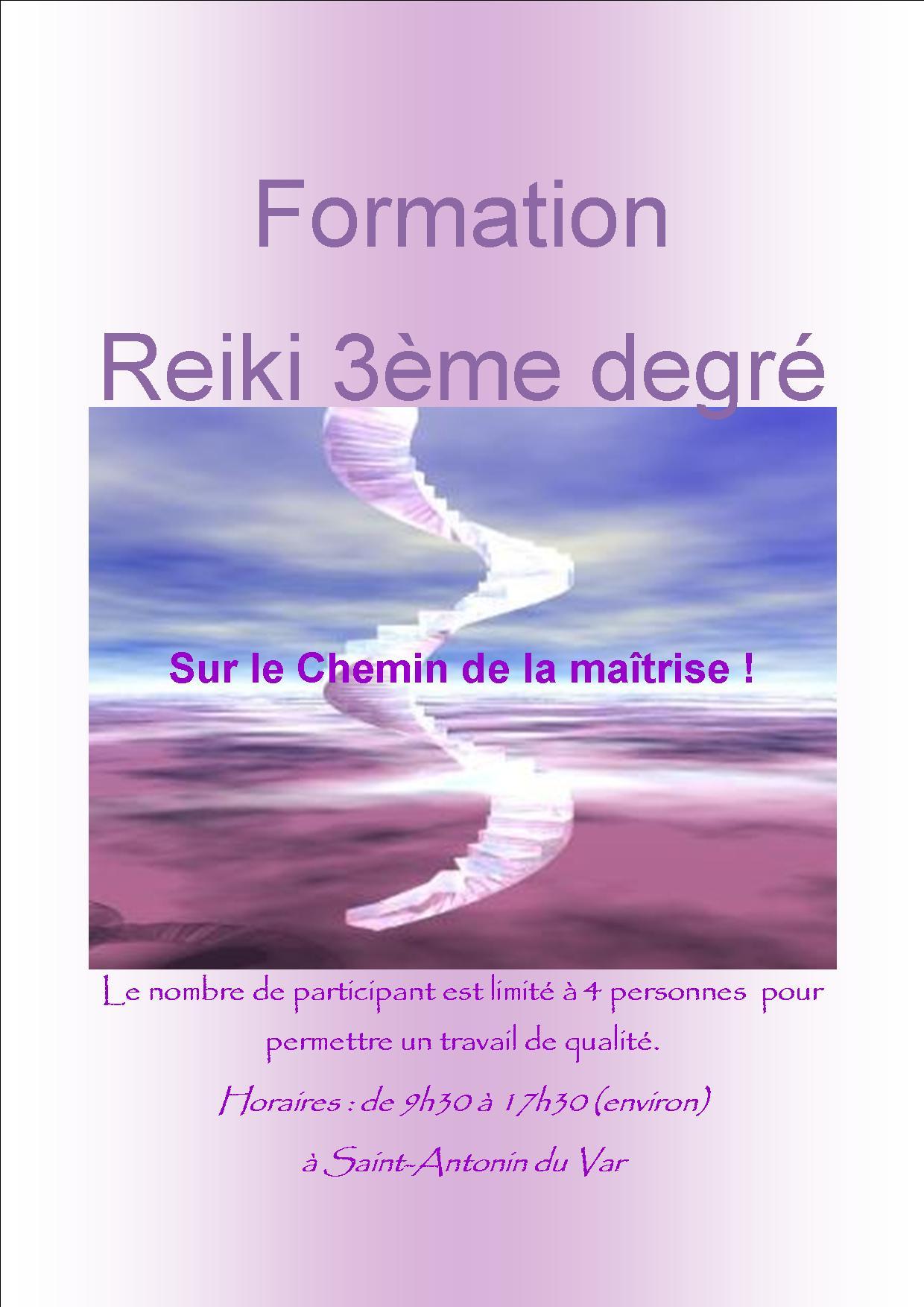 Formation 3eme degre
