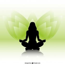 Meditation vert